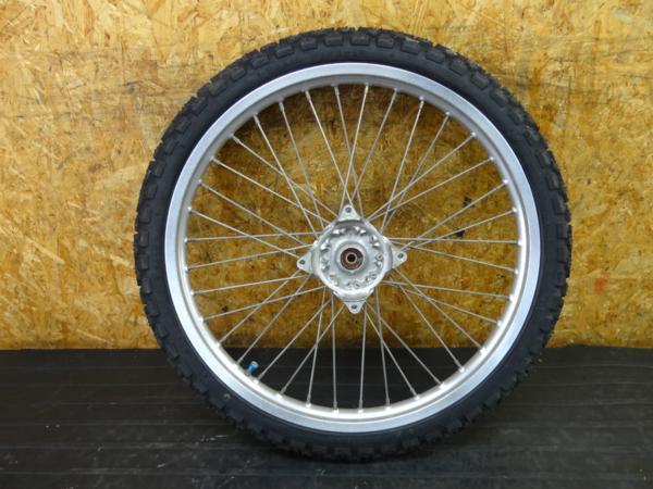 [170108]ジェベル200(SH42A)◇フロントホイール 21×1.60 | 中古バイクパーツ通販・買取 ジャンクヤード鳥取 JunkYard