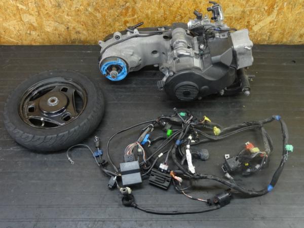 【161208】アドレスV125S(CF4MA)◇実働エンジン!! 電装系セット | 中古バイクパーツ通販・買取 ジャンクヤード鳥取 JunkYard