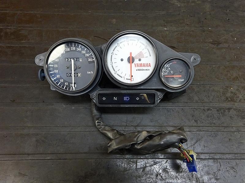 【180908.Y】TRX850(4NX-002)● スピードメーター タコメーター インジケーター リミッターカット付き M-MAX | 中古バイクパーツ通販・買取 ジャンクヤード鳥取 JunkYard