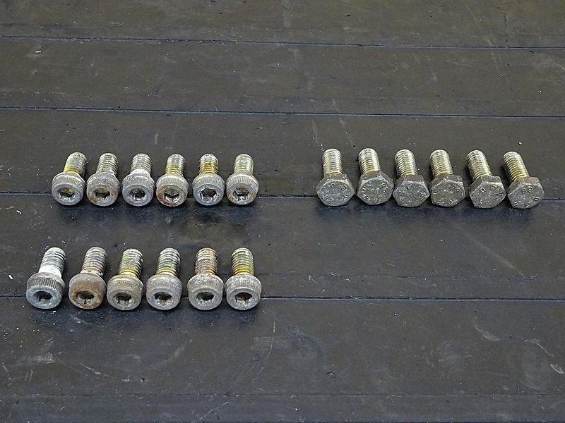 【190430.F】ドゥカティ モンスターS4★ ブレーキディスクボルト 前後セット | 中古バイクパーツ通販・買取 ジャンクヤード鳥取 JunkYard