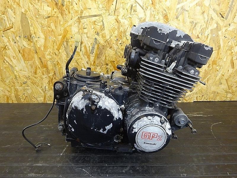 【190522.K】GPZ400F(ZX400A)● エンジン クランク ミッション ギア クラッチ 始動OK? 【GPZ400 | 中古バイクパーツ通販・買取 ジャンクヤード鳥取 JunkYard