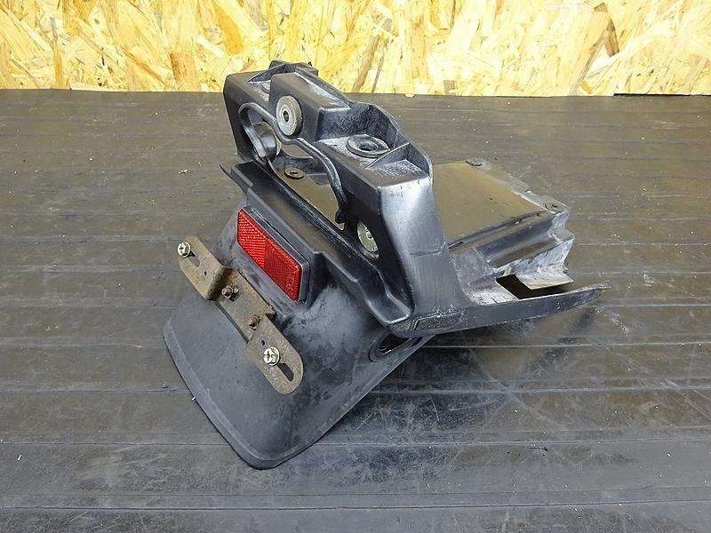【190520.K】ZRX400(ZR400E-051)● 純正リアフェンダー ナンバーステー ノーマル戻しに? (2005年 イモビ付き | 中古バイクパーツ通販・買取 ジャンクヤード鳥取 JunkYard