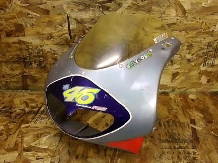 アプリリアRS50(MMA 001)◎フロントアッパーカウル ロッシカラー | 中古バイクパーツ通販・買取 ジャンクヤード鳥取 JunkYard