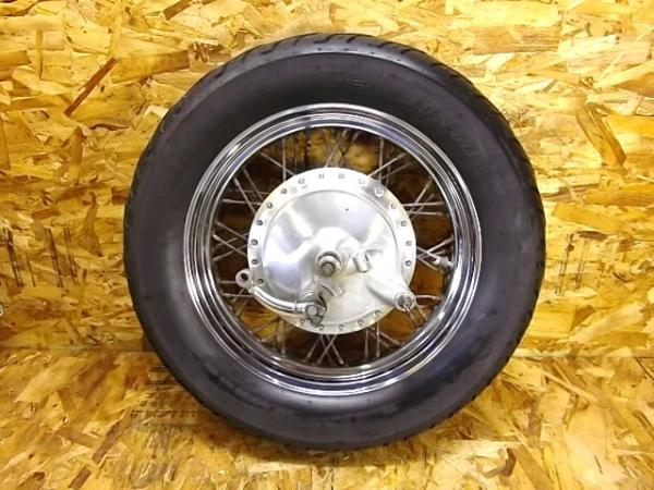 バルカン400クラシック(VN400A-020)◎リアホイール 16×3.00 | 中古バイクパーツ通販・買取 ジャンクヤード鳥取 JunkYard
