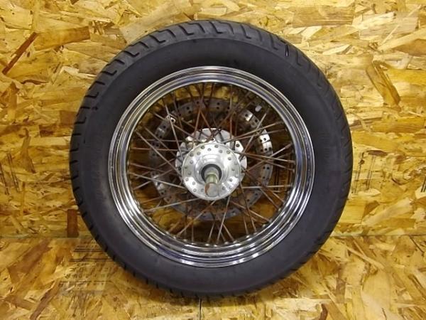 バルカン400クラシック(VN400A-020)◎フロントホイール 16×3.00 | 中古バイクパーツ通販・買取 ジャンクヤード鳥取 JunkYard