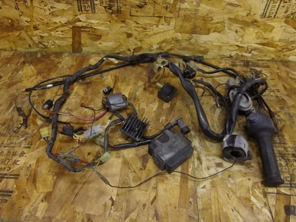 RZ125(13W-003)◎メインハーネス CDI IGコイル 電装系【前期 | 中古バイクパーツ通販・買取 ジャンクヤード鳥取 JunkYard