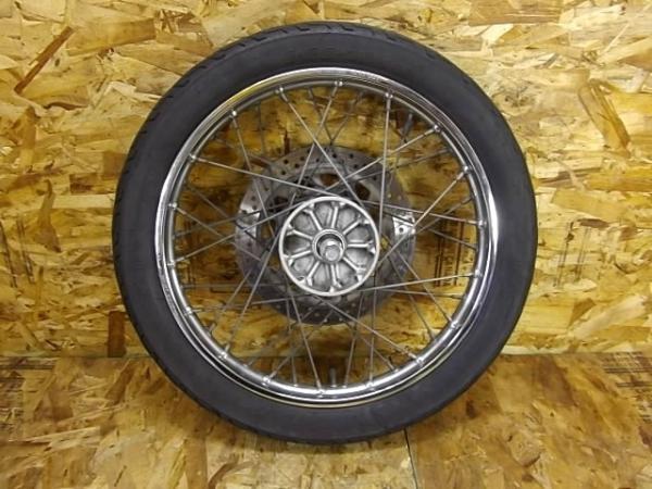 ビラーゴ250(3DM-094)◎フロントホイール 18×1.60 ディスク | 中古バイクパーツ通販・買取 ジャンクヤード鳥取 JunkYard