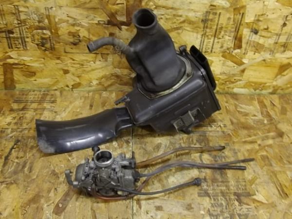 KLX250ES(LX250E-300)◎純正キャブレター キャブ エアクリ | 中古バイクパーツ通販・買取 ジャンクヤード鳥取 JunkYard