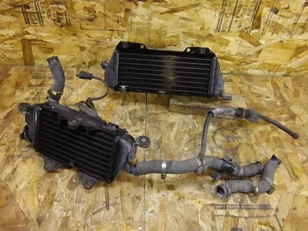 KLX250ES(LX250E-300)◎ラジエター ラジエーター ファン付き | 中古バイクパーツ通販・買取 ジャンクヤード鳥取 JunkYard