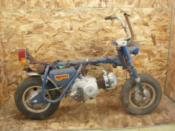 リジッドモンキー(Z50A)☆フレーム エンジン ハンドル【4L | 中古バイクパーツ通販・買取 ジャンクヤード鳥取 JunkYard