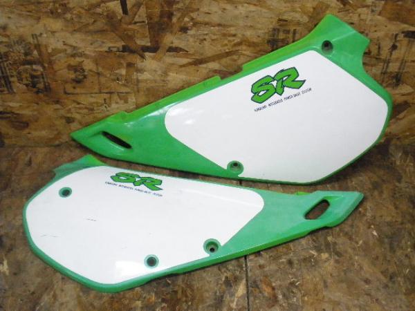 KDX250SR(DX250F-001)◇サイドカバー 左右セット | 中古バイクパーツ通販・買取 ジャンクヤード鳥取 JunkYard