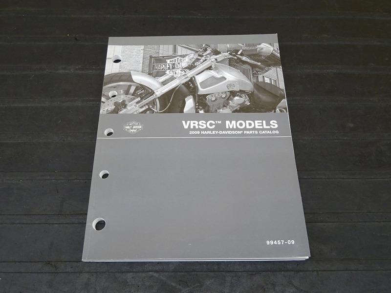【210117】■ 2009 ハーレー VRSCモデル パーツカタログ VRSC MODELS HARLEY-DAVIDSON PARTS CATALOG | 中古バイクパーツ通販・買取 ジャンクヤード鳥取 JunkYard