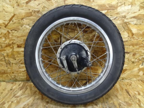 SR500(2J2-185)◇リアホイール 18×2.15 【SR400 | 中古バイクパーツ通販・買取 ジャンクヤード鳥取 JunkYard