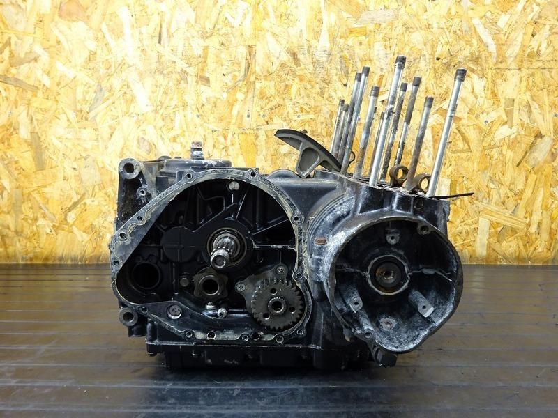 【210417】KZ750EE■ エンジン腰下 クランクケース/シャフト ミッション フライホイール 部品取りに!! ※エンジンパーツ GPZ750(ZX750A)?? | 中古バイクパーツ通販・買取 ジャンクヤード鳥取 JunkYard