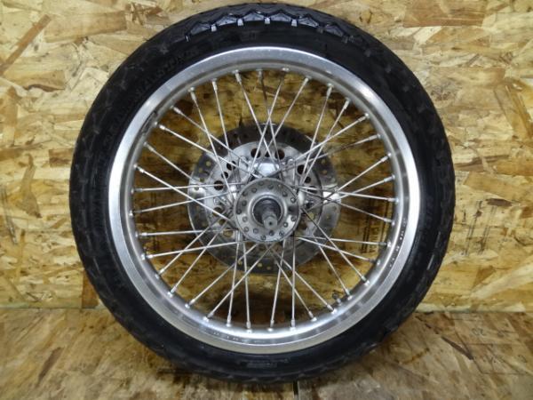GB250クラブマン(MC10-1303)◎フロントホイール 18×1.85 【4型 | 中古バイクパーツ通販・買取 ジャンクヤード鳥取 JunkYard