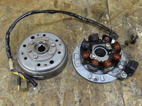 JAZZ(AC09-1001)◎ジェネレーター フライホイール軽量?6V | 中古バイクパーツ通販・買取 ジャンクヤード鳥取 JunkYard