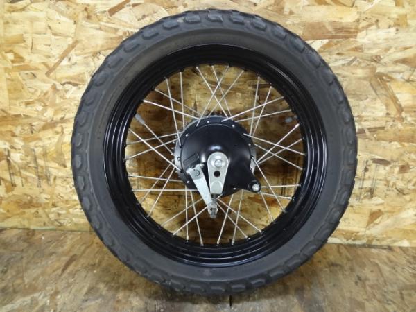 グラストラッカーBB(NJ47A-124)◎リアホイール 18×3.00 ドラム   中古バイクパーツ通販・買取 ジャンクヤード鳥取 JunkYard