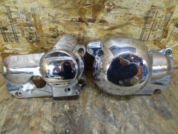 ドラッグスター400C(4TR-113)◎エンジンカバー 左右 サイド | 中古バイクパーツ通販・買取 ジャンクヤード鳥取 JunkYard