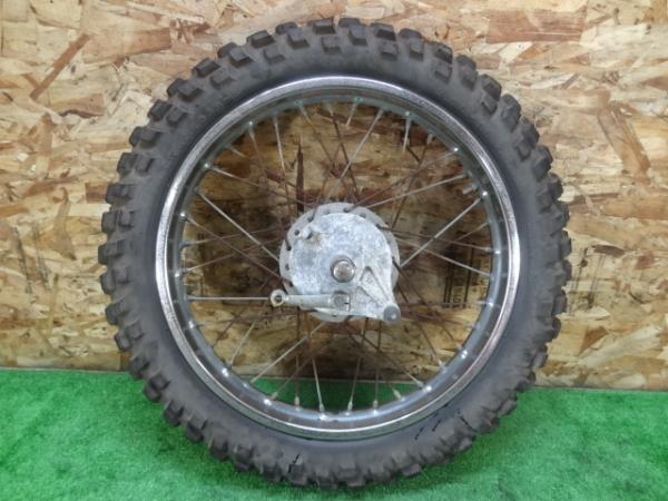 エルシノア125(MT125-1007)◎純正リアホイール 18×1.85 ドラム | 中古バイクパーツ通販・買取 ジャンクヤード鳥取 JunkYard