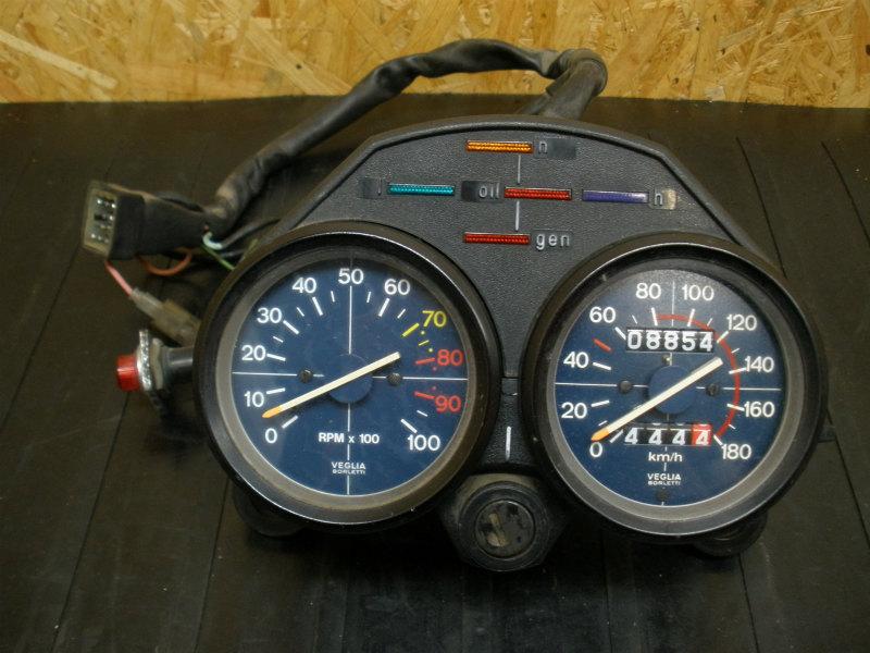 《140828》モトグッチV50(PB)◇メーターユニット メインスイッチ | 中古バイクパーツ通販・買取 ジャンクヤード鳥取 JunkYard