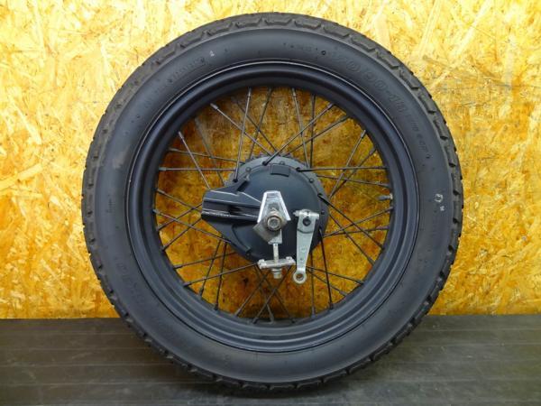 【160531】FTR223(MC34)◎リアホイール 18×3.00 アクスル | 中古バイクパーツ通販・買取 ジャンクヤード鳥取 JunkYard