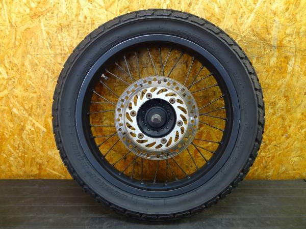 【160531】FTR223(MC34)◎フロントホイール 18×2.50 アクスル | 中古バイクパーツ通販・買取 ジャンクヤード鳥取 JunkYard