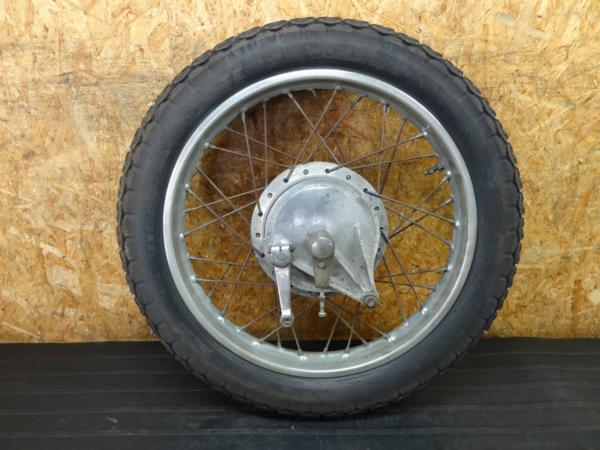 【160805】CB350◇リアホイール 18×1.85アクスル【エクスポート | 中古バイクパーツ通販・買取 ジャンクヤード鳥取 JunkYard