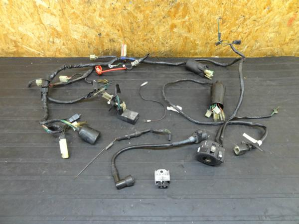 【160822】NS-1(AC12)◆ハーネス コイル レギュレターハンドルSW | 中古バイクパーツ通販・買取 ジャンクヤード鳥取 JunkYard