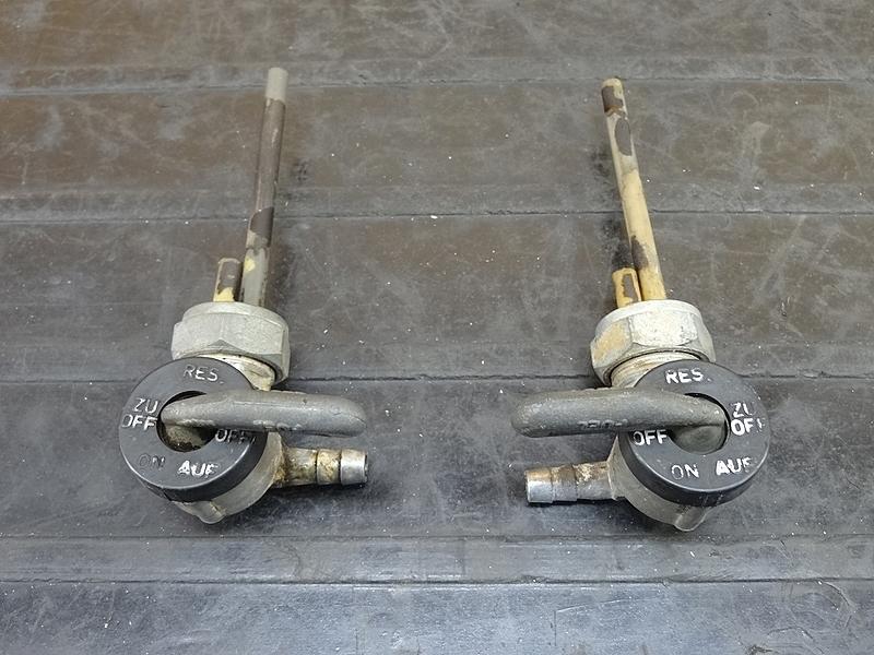 【181219.F】BMW R65 ★ 燃料コック フューエルコック ガソリンタンクコック左右 ジャンク (検 R100 R90 R80 R75 R65 LS GS | 中古バイクパーツ通販・買取 ジャンクヤード鳥取 JunkYard
