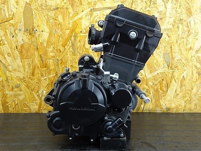 【191118.K】Z250SL(BR250E-A10)★ 中古エンジン 始動確認後取り外し!! ジェネレーター セルモーター 13358㎞ 【検:Ninja250SL | 中古バイクパーツ通販・買取 ジャンクヤード鳥取 JunkYard