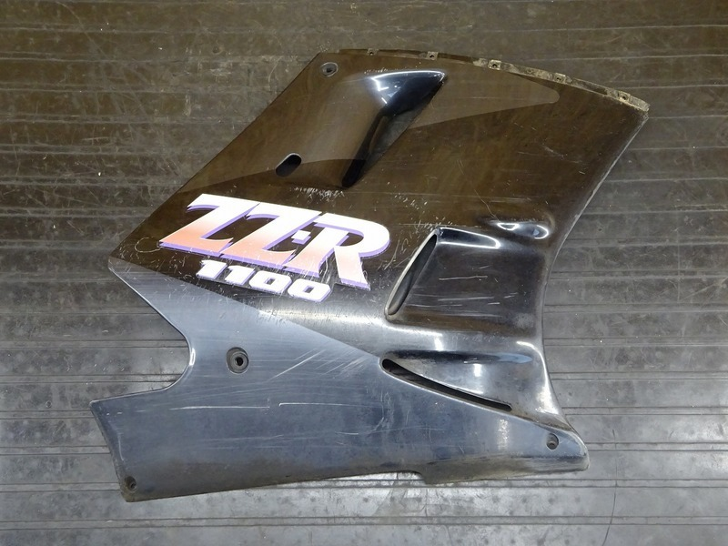 【200627】ZZR1100(ZXT10C-018)◇ サイドカウル右 【ZZ-R1100 C2型 | 中古バイクパーツ通販・買取 ジャンクヤード鳥取 JunkYard