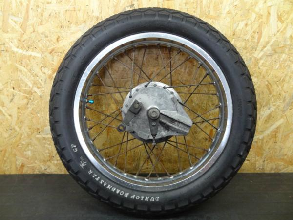 【140804】GB250クラブマン(MC10)◎リアホイール タイヤ付   中古バイクパーツ通販・買取 ジャンクヤード鳥取 JunkYard