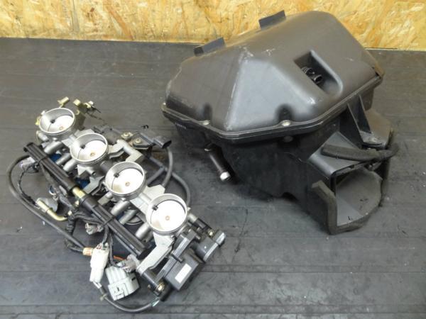 【140910】Ninja ZX-6R'03◎スロットル インジェクター【ZX600K | 中古バイクパーツ通販・買取 ジャンクヤード鳥取 JunkYard