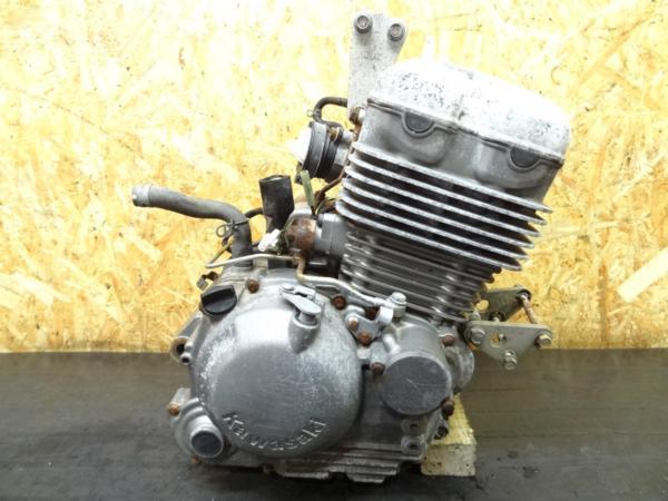 【150312】スーパーシェルパ(KL250G)◎エンジン 始動確認後取外 | 中古バイクパーツ通販・買取 ジャンクヤード鳥取 JunkYard