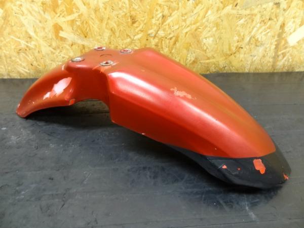 【150312】スーパーシェルパ(KL250G)◎フロントフェンダー 難有 | 中古バイクパーツ通販・買取 ジャンクヤード鳥取 JunkYard