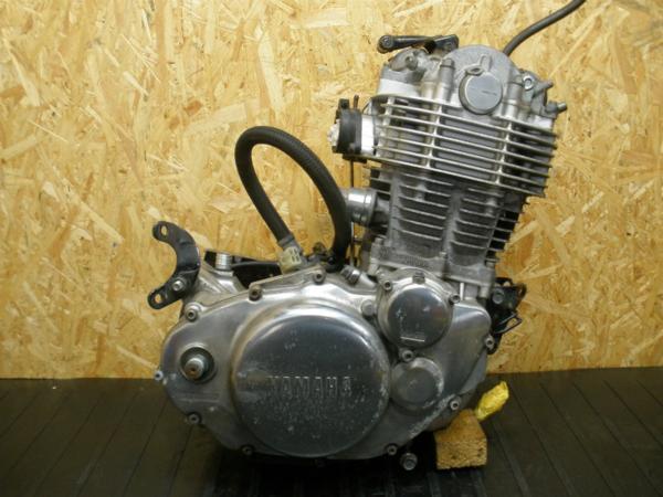 《140906》SR400(RH01J)◇エンジン クランキングOK 圧縮有!! | 中古バイクパーツ通販・買取 ジャンクヤード鳥取 JunkYard