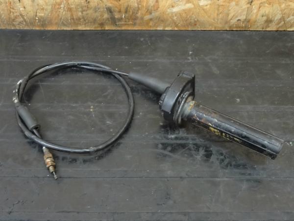 【150418】KX80◇スロットルホルダー スロットルパイプ 難有 | 中古バイクパーツ通販・買取 ジャンクヤード鳥取 JunkYard