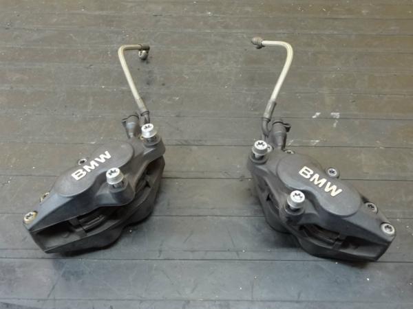 【150420】BMW R1200S◆フロントブレーキキャリパー 左右 ホース | 中古バイクパーツ通販・買取 ジャンクヤード鳥取 JunkYard
