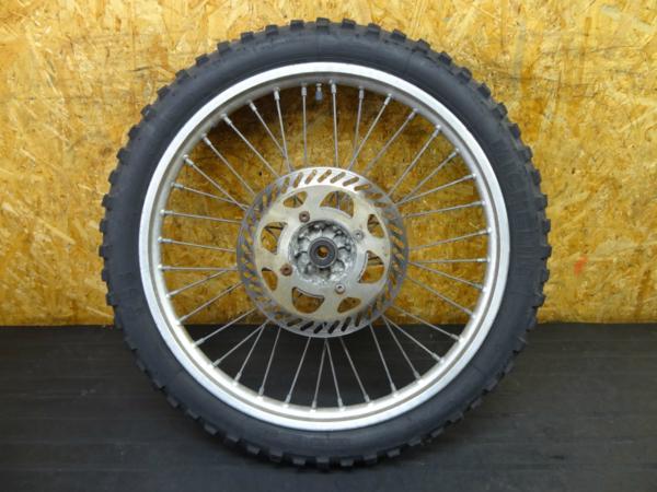 【160309】KDX250(DX250F)◆フロントホイール 21×1.80 ディスク | 中古バイクパーツ通販・買取 ジャンクヤード鳥取 JunkYard