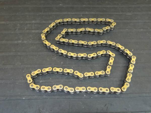 【160721】KDX200SR(DX200G)◆RKチェーン 520 SO ゴールド 122L | 中古バイクパーツ通販・買取 ジャンクヤード鳥取 JunkYard