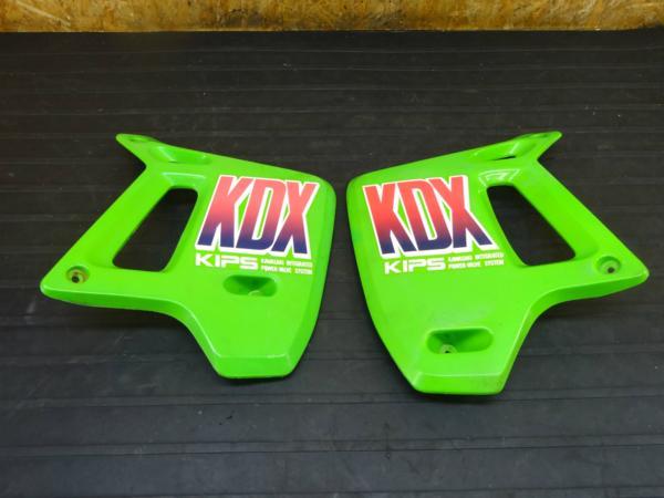 【160721】KDX200SR(DX200G)◆フロントサイドカバー シュラウド | 中古バイクパーツ通販・買取 ジャンクヤード鳥取 JunkYard