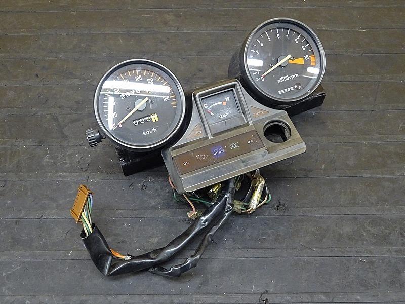 【200419】■ CX400?? CXカスタム?? スピードメーター タコメーター インジケーターランプ 燃料計 28785㎞ | 中古バイクパーツ通販・買取 ジャンクヤード鳥取 JunkYard