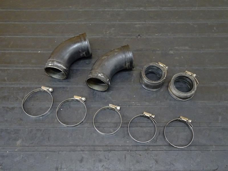 【201110】BMW R100RS '89■ インテークパイプ インシュレーター パイプ ※検:GS RT R R80 モノサス モノレバー | 中古バイクパーツ通販・買取 ジャンクヤード鳥取 JunkYard