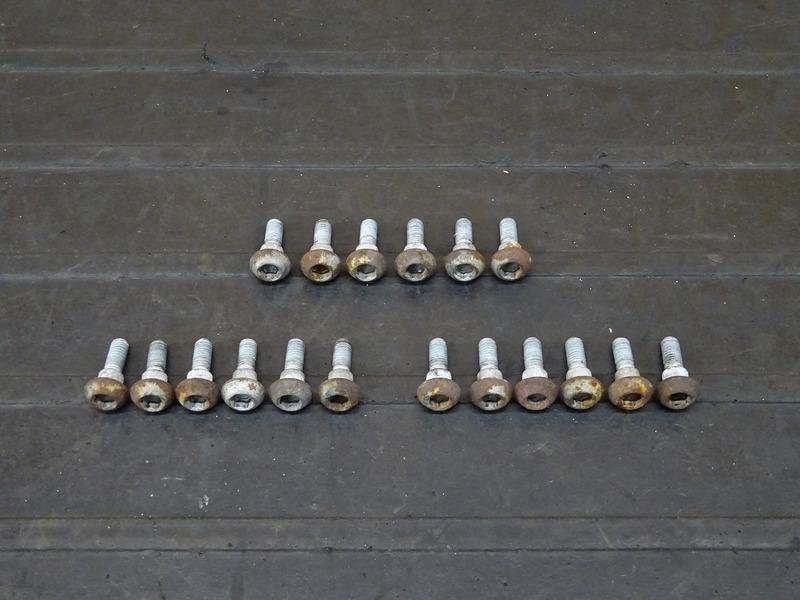 【210120】YZF-R6 '99■ ブレーキディスクボルト前後セット フロントブレーキディスクボルト リアブレーキディスクボルト 【5EB '99-'00 | 中古バイクパーツ通販・買取 ジャンクヤード鳥取 JunkYard