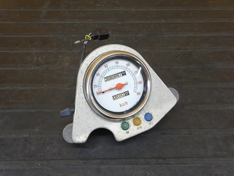 【210330】ルネッサ(4DN-048)■ スピードメーター インジケーターランプ 39987㎞ 【SRV250 | 中古バイクパーツ通販・買取 ジャンクヤード鳥取 JunkYard