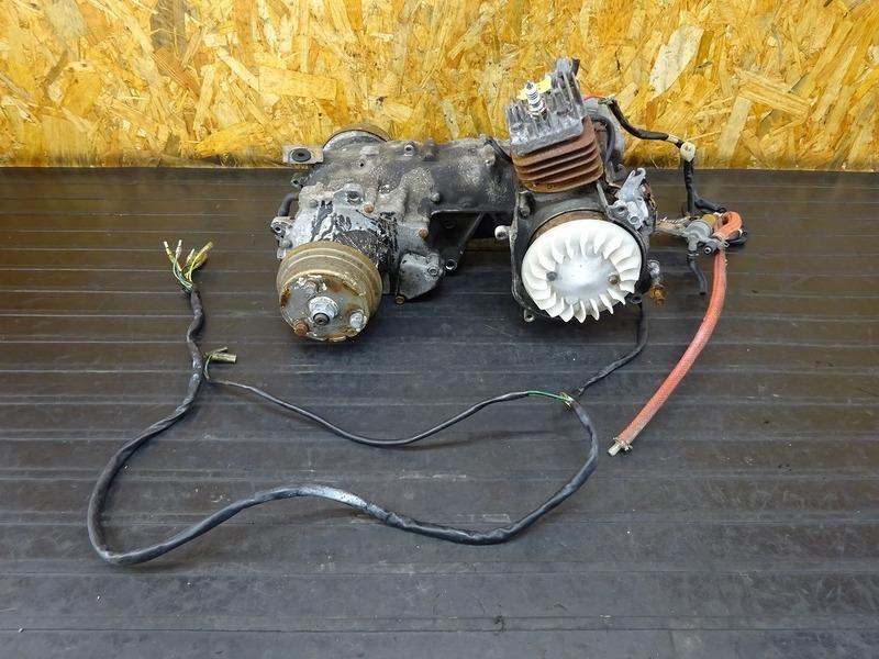 【210512】ジャイロX(TD01-1202)■ 中古エンジン クランキング確認後取り外し!! 2スト 【GYRO X | 中古バイクパーツ通販・買取 ジャンクヤード鳥取 JunkYard