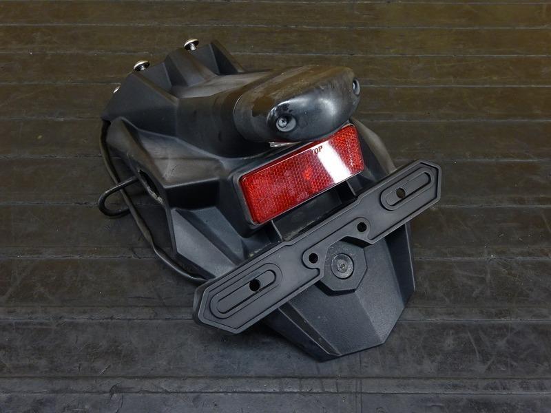 【210601】Ninja250(EX250L-A28)◇ リアフェンダー ナンバーホルダー ナンバー灯 【NINJA ニンジャ | 中古バイクパーツ通販・買取 ジャンクヤード鳥取 JunkYard