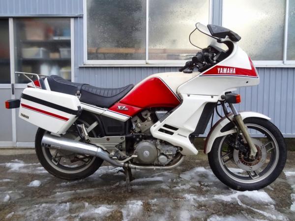 XZ400D(14X)☆走行378㎞ 希少フェアリング付 【サイクロン号!??   中古バイクパーツ通販・買取 ジャンクヤード鳥取 JunkYard