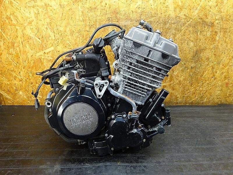 【180908.Y】TRX850(4NX-002)● エンジン ミッション クランク スターター 始動OK! ベースに? | 中古バイクパーツ通販・買取 ジャンクヤード鳥取 JunkYard