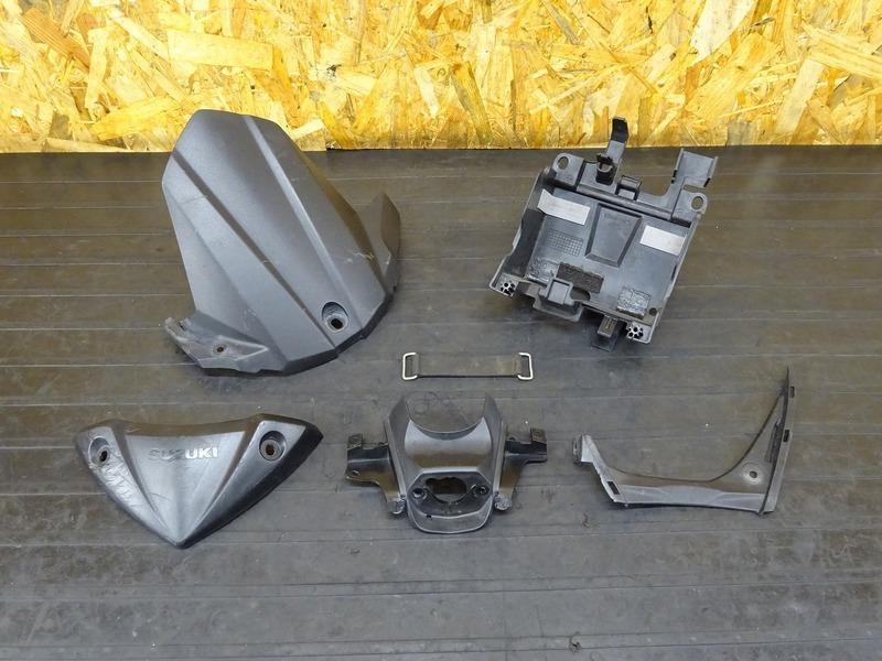 【200615】GSX-S1000 ABS '16■ 純正インナーフェンダーセット バッテリーボックス 【S1000F   中古バイクパーツ通販・買取 ジャンクヤード鳥取 JunkYard